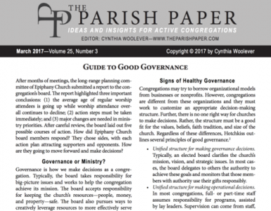 March — Guide to Good Governance